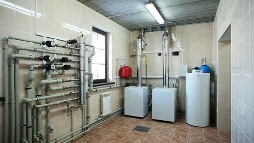 Установка электрокотла системы отопления